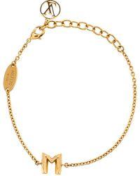 Louis Vuitton - Essential M Tone Bracelet - Lyst