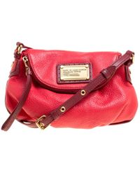 5f4c27263bc1 Marc By Marc Jacobs - Leather Classic Q Natasha Crossbody Bag - Lyst