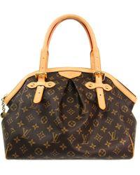 44869a036b35 Louis Vuitton Monogram Canvas Croissant Pm Bag in Brown - Lyst