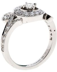 Van Cleef & Arpels - Nid De Paradis Diamond & 18k White Gold Ring - Lyst