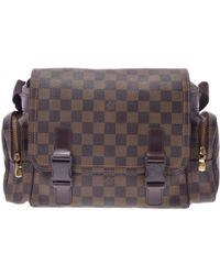 Louis Vuitton - Damier Ebene Canvas Melville Reporter Bag - Lyst