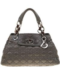5e6dfc9eeb70 Dior Limited Edition 001 Beige Python Cannage Stitch Tote Bag in ...