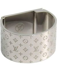 Louis Vuitton - Tone Nanogram Scarf Ring - Lyst
