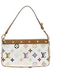Louis Vuitton - White Monogram Canvas Pochette Accessories - Lyst