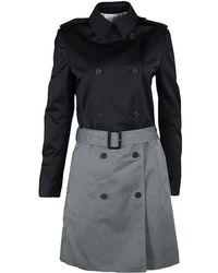 JOSEPH - And Cloud Techno Taffeta Benicio Belted Trench Coat M - Lyst