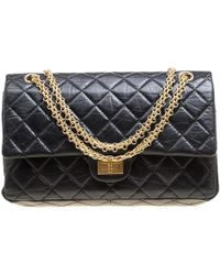 5a0dab04b4b827 Chanel - Quilted Leather Reissue 2.55 Classic 226 Flap Bag - Lyst