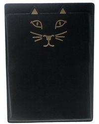 Charlotte Olympia - Leather Feline Ipad Case - Lyst