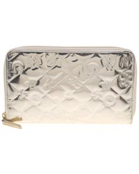 92ed5261d47a Chanel - Patent Leather Lucky Symbols Zip Around Wallet - Lyst