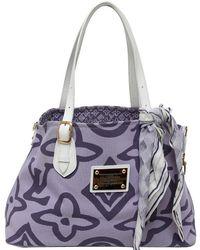 Louis Vuitton - Lilac Canvas Tahitienne Cabas Pm Bag - Lyst