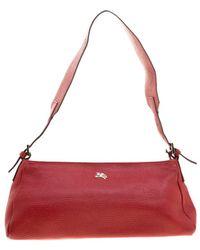 Burberry - Leather Pochette Shoulder Bag - Lyst