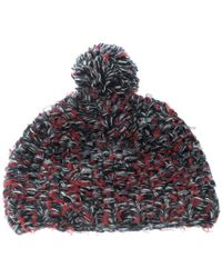 faf80852 Chanel - Multicolor Cashmere And Wool Chunky Knit Pom Pom Beanie - Lyst