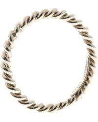 Tiffany & Co. - Twist Narrow Band Ring - Lyst