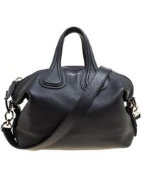 069242868e88 Givenchy - Leather Small Nightingale Top Handle Bag - Lyst