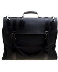 Louis Vuitton - Taiga Leather And Nylon Garment Bag - Lyst