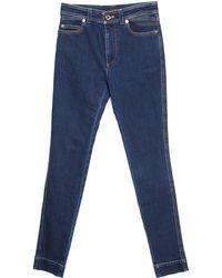 Louis Vuitton - Indigo Dark Wash Denim Skinny Jeans S - Lyst