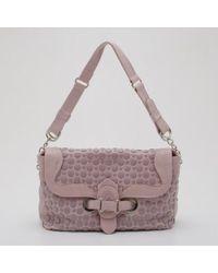 Sonia Rykiel - Rose Leather Studded Shoulder Bag - Lyst