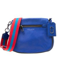 b024c03b2 Marc Jacobs - Leather Recruit Nomad Saddle Shoulder Bag - Lyst