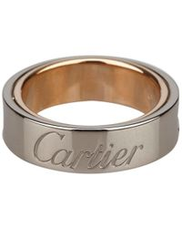 Cartier - Secret Love White And Rose Gold Ring - Lyst