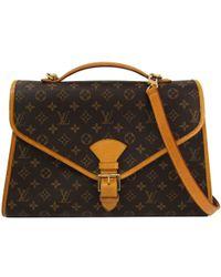 Louis Vuitton - Monogram Canvas Beverly Briefcase Bag - Lyst