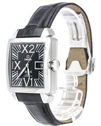 Omega - Stainless Steel De Ville X2 Big Date Men's Wristwatch 35mm - Lyst