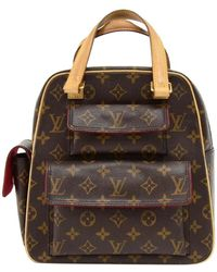 Lyst - Louis Vuitton Aix Suntory Cite Handbag Monogram Pvc Leather ... 2673b6d5712d