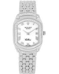 Rolex - 18k Gold Diamond Cellini Cellissima Women's Wristwatch 24mm - Lyst