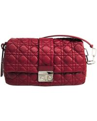 Dior - Cannage Quilted Leather New Lock Flap Bag - Lyst