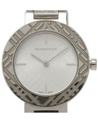 Burberry - Gold Plated Stainless Steel Heritage Collection Women's Wristwatch 36mm - Lyst
