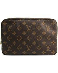 Louis Vuitton - Monogram Canvas Trousse Toilette 23 Cosmetic Case - Lyst
