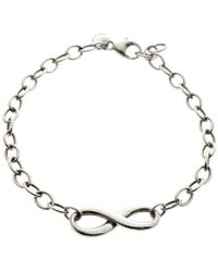 Tiffany & Co. - Infinity Chain Link Bracelet - Lyst