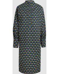 Marni - Portrait Poplin Tunic Dress - Lyst
