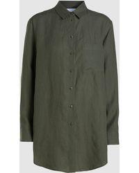 Asceno - Boyfriend Linen Shirt - Lyst