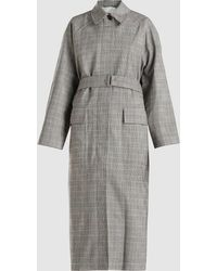 3.1 Phillip Lim - Prince Of Wales Chequered Wool-blend Overcoat - Lyst