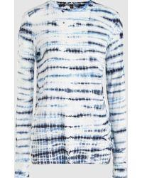 Proenza Schouler - Tie-dye Cotton Top - Lyst
