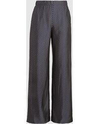 Zero + Maria Cornejo - Kati Striped Woven Trousers - Lyst
