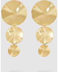 Monica Sordo - Gold-plated Cao Earrings - Lyst