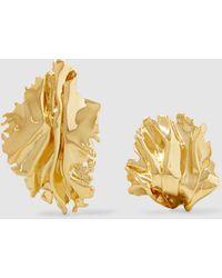 Annelise Michelson - Sea Leaf Earrings - Lyst