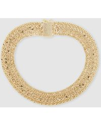 Rosantica - Regina Gold-tone Necklace - Lyst