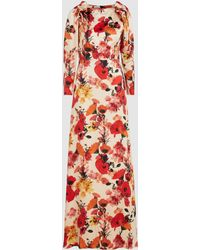 Mother Of Pearl - Zula Floral Silk Maxi Dress - Lyst