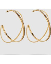 Erickson Beamon - Metallica Earrings - Lyst