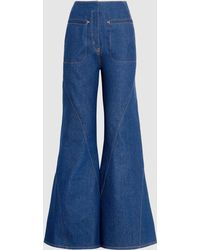 Esteban Cortazar | Flared Denim Jeans | Lyst