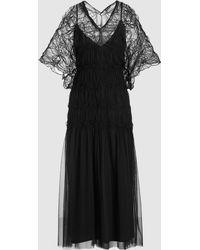 Rachel Comey - Clasp Oversize V-neck Midi Dress - Lyst