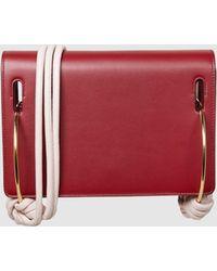 ROKSANDA - Dia Knotted Leather Shoulder Bag - Lyst