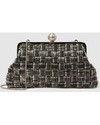 Sarah's Bag - Pins Classic Embellished Clutch - Lyst
