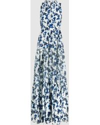 Elizabeth and James - Lani P Maxi Dress With Gathers - Lyst