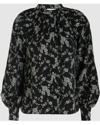 Co. - Floral Jacquard-twill Blouse - Lyst