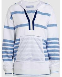 Koza - Embroidered Cotton Baja Hooded Top - Lyst