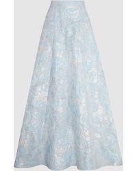 Safiyaa - Dailila Matelasse Maxi Skirt - Lyst
