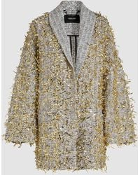 Rachel Comey - Garnish Golden Tinsel Coat - Lyst