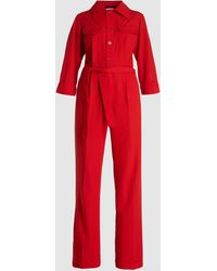 Hope Tailored Tie-waist Jumpsuit